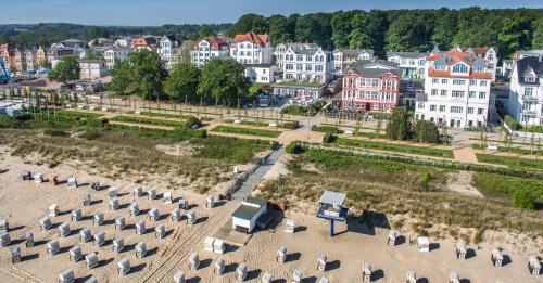 Hotel Germania In Seebad Bansin Auf Der Insel Usedom